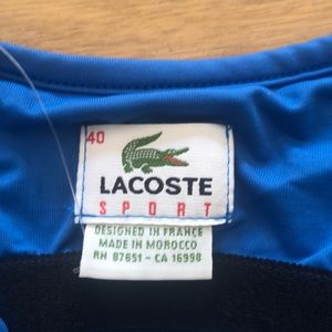 Lacoste Tops - Lacoste performance tank new